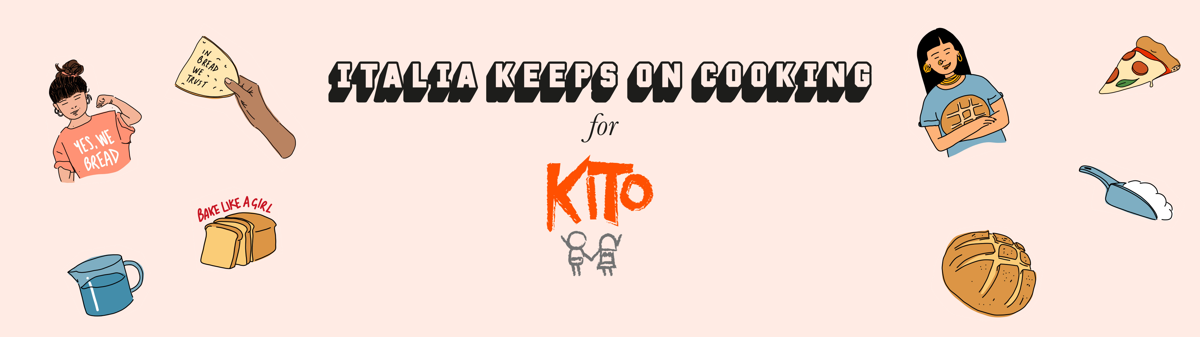 Italia Keeps on Cooking for KITO